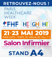 Salon infirmier - 21-23 mai - Paris Health Care - Stand A4