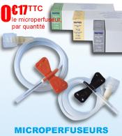Microperfuseur Epicranien avec ailettes NIPRO