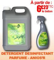 Détergent désinfectant parfumé Fresh Garden Anios