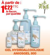 NOUVEAU : Aniosgel 800 gel hydroalcoolique avec action protectrice ANIOS