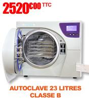 AUTOCLAVE 23L de classe B - ZV230 Hyperion