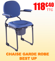 Chaise garde robe Best Up pliable