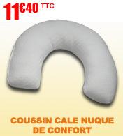 Coussin cale nuque de confort Robé Médical