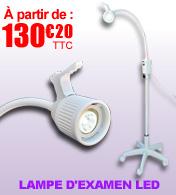 Lampe d'examen médicale LED, lumière du jour 12 000 Lux - VIEWTRONIC