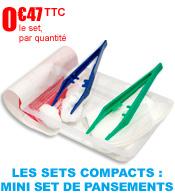 Les Sets Ultra Compacts : le mini set de pansements Robé Médical