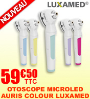 Otoscope LUXAMED MicroLED Auris 2.5V Colour your Day