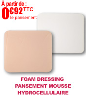 Pansement mousse hydrocellulaire, Foam Dressing