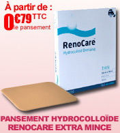 Pansement hydrocolloïde RenoCare extra mince