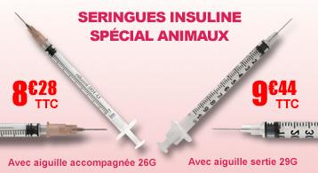 Seringues insulines 1 ml avec aiguille accompagnée 26G ou 27G, NIPRO, Boîte de 100.