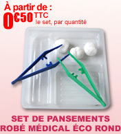 Sets de pansements ECO ROND Robé Médical