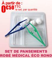 Sets de pansements ECO ROND Robé Médical