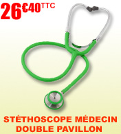 St�thoscope m�decin double pavillon Premio