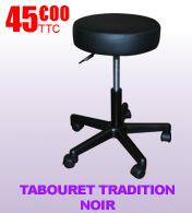 Tabouret Tradition Noir