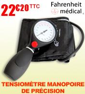 Tensiomètre manopoire de précision Fahrenheit Médical