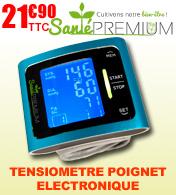 Tensiomètre électronique poignet T14 Santé Premium avec  LED code couleur pour tension
