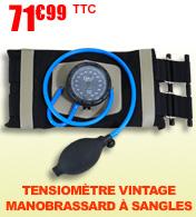 Tensiomètre manobrassard à sangles Vintage Classic
