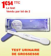 Test de grossesse urinaire Romed.