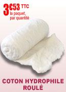 Coton hydrophile roulé Robé Médical 500 gr