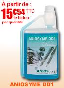 Aniosyme dd1 Détérgent désinfectant  instruments