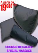 Coussin de calage rectangulaire Robé Médical pour tables de massages