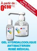 Gel hydroalcoolique antibactérien ROBE MEDICAL