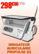 Irrigateur auriculaire électronique Propulse G5