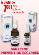 Sanyrène, solution pour le traitement des escarres
