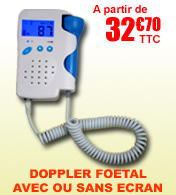 Doppler fœtal à ultrasons 2MHz FD200 Fahrenheit Médical materiel medical