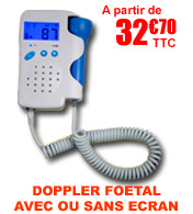 Doppler fœtal à ultrasons 2MHz VILONGT FAHRENHEIT MEDICAL materiel medical