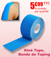 Kiné Tape, bande de Taping DR SIMSON materiel medical