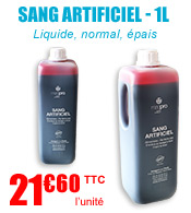 Sang artificiel - Bidon de 1L - Maqpro materiel medical