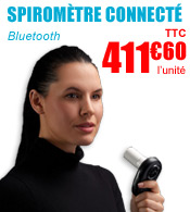 Spiromètre connecté Bluetooth Air Next - NuvoAir  materiel medical