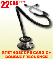 St�thoscope CARDIO + double fr�quence - Fahrenheit M�dical Classics materiel medical