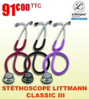 St�thoscope 3M Littmann Classic III materiel medical