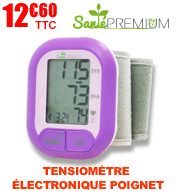Tensiomètre poignet automatique SW3 SANTE PREMIUM materiel medical