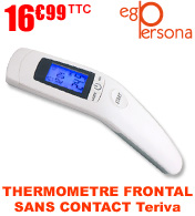 Thermomètre frontal sans contact multifonctions Teriva EGO PERSONA materiel medical