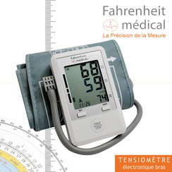 Tensiomètre électronique bras COMPACT BP 101 Fahrenheit..