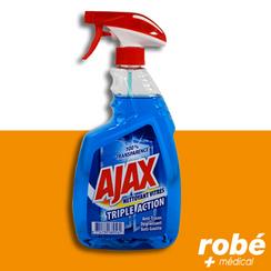Nettoyant vitres ajax triple action 750 ml nettoyants for Produit pour nettoyer les vitres sans traces