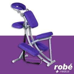 Chaise De Massage Ergonomique Professionnelle En Aluminium Ecopostural