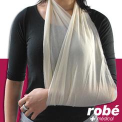 Charpe triangulaire d 39 immobilisation en vente chez rob mat riel m dical - Comment faire un bras articule ...