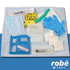 Kit de pose sur chambre implantable ou cath ter central - Chambre a catheter implantable ...
