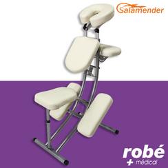 Chaise De Massage Pliante Ergonomique S225 Crme Salamender