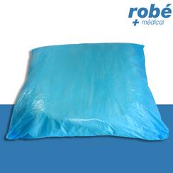 prot ge oreiller plastifi imperm able jetable 60 x 70 cm. Black Bedroom Furniture Sets. Home Design Ideas