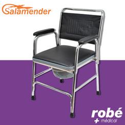 fauteuil chaise perc e acier chrom salamender. Black Bedroom Furniture Sets. Home Design Ideas