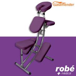 Chaise de massage pliante ergonomique s225 prune salamender chaises de massage rob vente - Massage porte de versailles ...