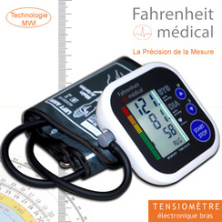 Tensiomètre bras électronique T91 FAHRENHEIT MEDICAL