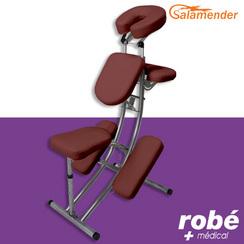 Chaise De Massage Pliante Ergonomique S225 Havane Salamender