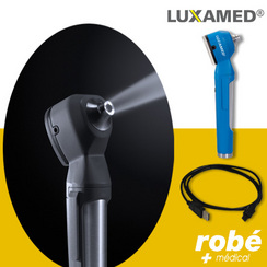 Otoscope LUXAMED MicroLED Auris 3.7V batterie rechargeable USB