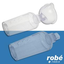 Chambre d 39 inhalation able spacer en vente chez rob for Chambre d inhalation