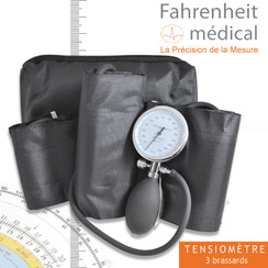 Tensiomètre kit multi-brassard avec 3 brassards OBRAG FAHRENHEIT MEDICAL